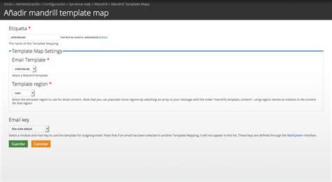 mandrill env 237 o de emails transaccionales desde drupal