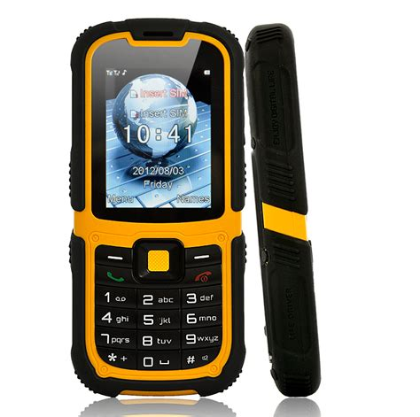 unlocked rugged cell phones 2 2 inch rugged mobile phone with flashlight dual sim unlocked waterproof dustproof