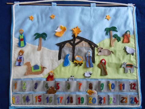 how to make felt nativity advent calendar nativity advent calendar felt figures