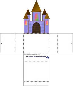 printable castle template the world s catalog of ideas