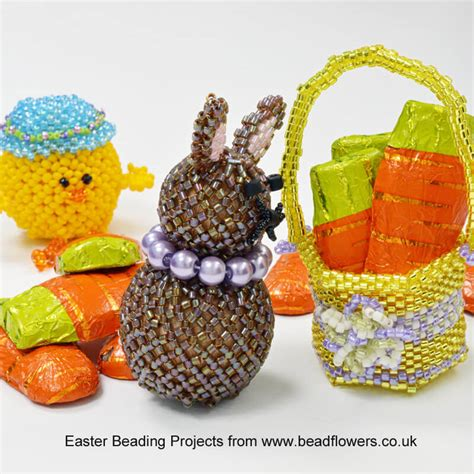 beaded basket tutorial beaded easter basket pattern dean beadflowers