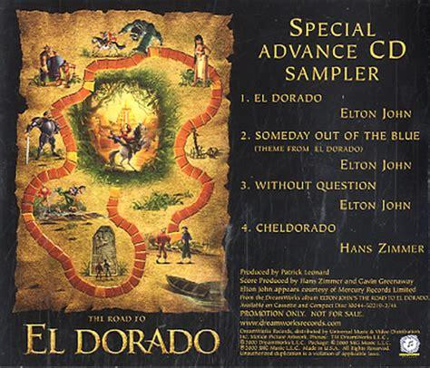 elton john el dorado elton john the road to eldorado sler us promo cd single
