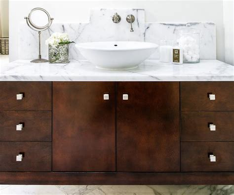 Bathroom Vanities Bowl Sinks by Bathroom Vanity With Bowl Sink Transitional Bathroom