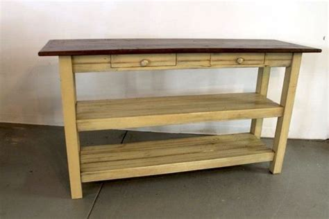 kitchen island made from reclaimed wood hand made open base kitchen island from reclaimed wood by