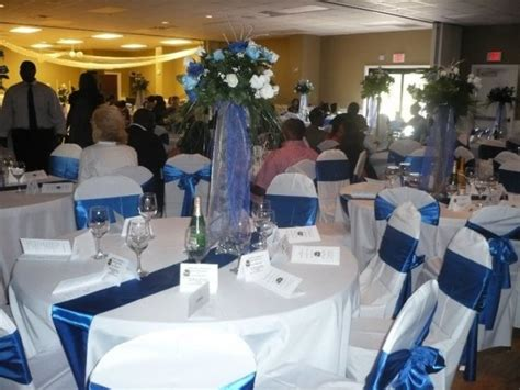 Blue And White Wedding Reception Decorations by Royal Blue Wedding Reception Ideas Memes