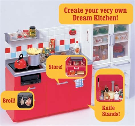 Rement Kitchen by Re Ment Kitchen Miniature Display