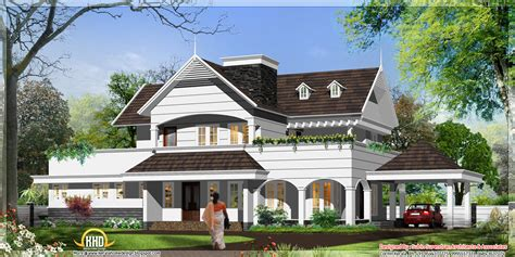 english house designs english style house in kerala 3300 sq ft kerala home design and floor plans