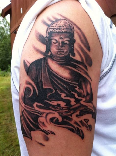 buddha tribal tattoo designs buddhist tattoos page 5