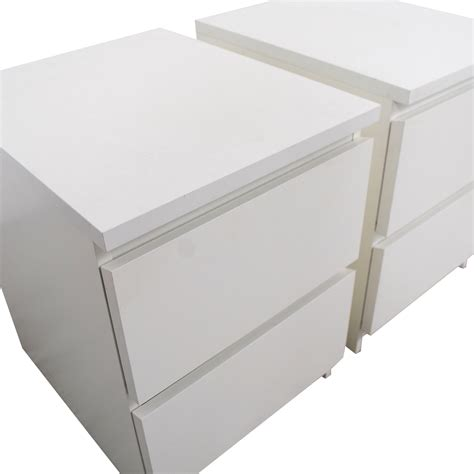white end table ikea 40 ikea ikea white two drawer end tables tables