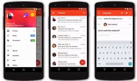 gmail apk gmail 5 0 apk with the signed version for non rooted devices axeetech