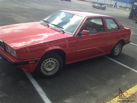 1985 maserati biturbo for sale 1985 maserati biturbo two door coupe