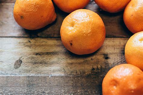 Oranges on Wood Table Free Photo ? Foodie Factor