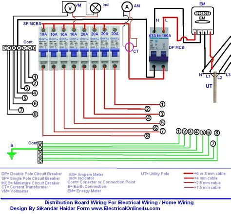 automatic ups system wiring circuit diagram for home or