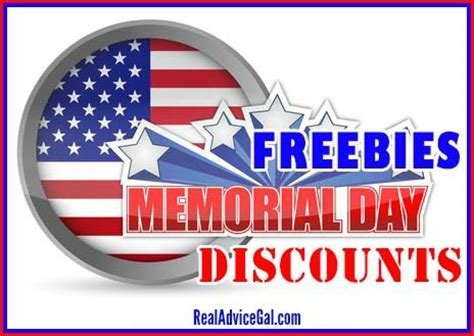 take advantage of veterans day offers the american legion memorial day military discounts and freebies real advice gal