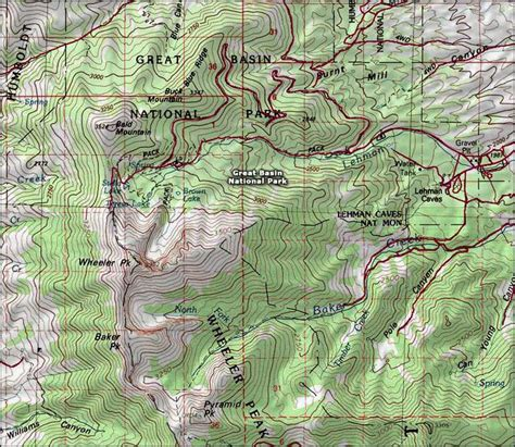 great basin on a map great basin national park weather noaa basin in a church