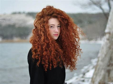 cute girl hairstyles merida adorable curls she looks like merida from brave it s