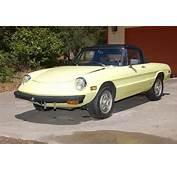 Find Used 1976 Alfa Romeo Spider Veloce Convertible 2 Door