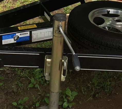 fulton boat trailer jack replacement fulton dual wheel trailer jack for boat