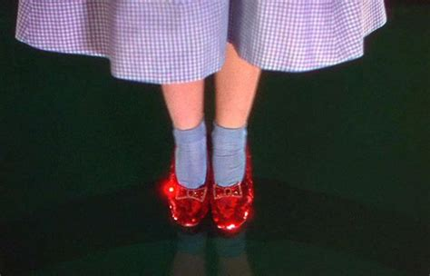 ruby slippers from wizard of oz attention wizard of oz fans you could own a of