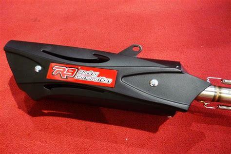 Knalpot Racing Vario 150 Esp Honda Stainless Gp I One New kurang puas sama tenaga vario 150 dan nmax obatin dulu nih pake r9