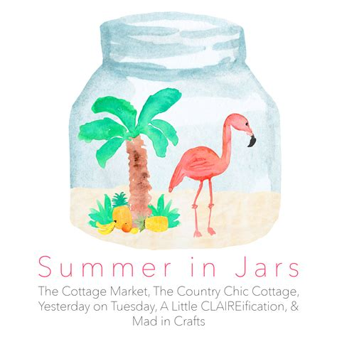 summer themed crafts for 50 jar craft ideas for summer the country chic cottage