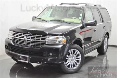 how cars run 2008 lincoln navigator l navigation system sell used 2008 lincoln navigator limited edition navi sat ventilated thx wood xenon in