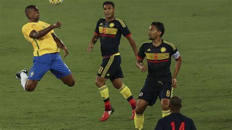 Partido Brasil Brasil 1 0 Colombia Resumen Y Resultado Partido De La