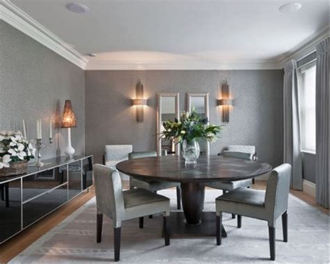 Modern Grey Dining Room Grey Dining Room Houzz