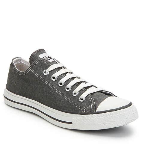 Converse Casual Grey converse gray smart casuals shoes buy converse gray