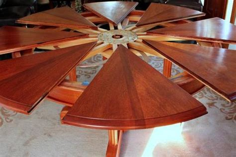 Spinning Expanding Table by Expandable Table