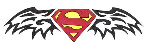 superman tribal tattoos 10 stunning superman tribal tattoos only tribal