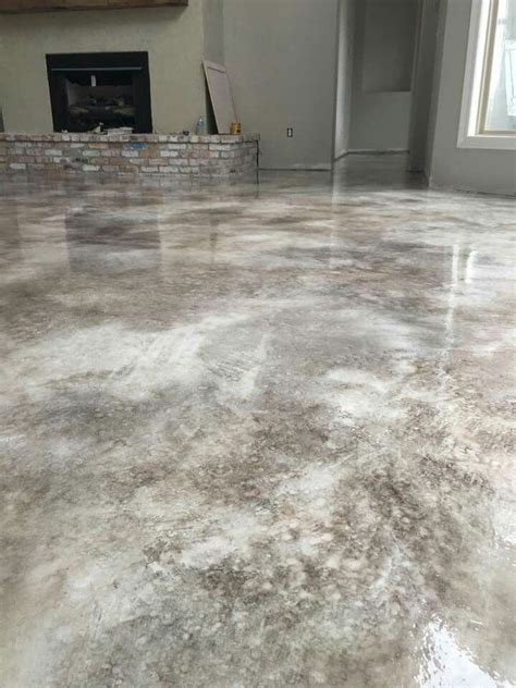 Concrete Stained Floors by Best 25 Concrete Stain Colors Ideas On