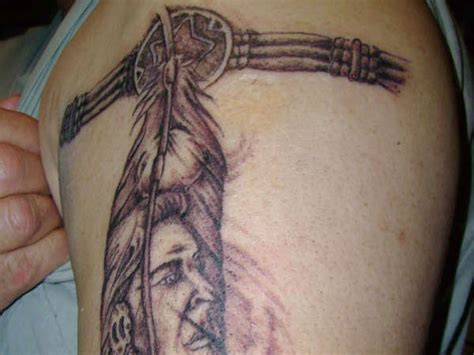 creek indian tribal tattoos indian band tattoos gallery