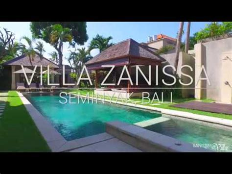 villa zanissa seminyak bali youtube