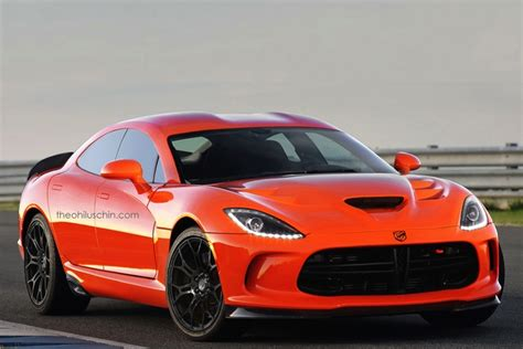 Dodge Concept by Dodge Viper Sedan Concept Ticks All The Wrong Boxes