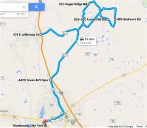 bluebonnet trail map discover wildflower season on the