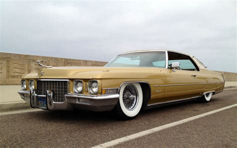 Cadillac Wire Rims by 1971 Cadillac De Ville With Dayton Wire Wheels