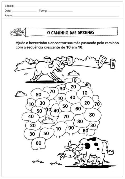 Atividades de Matemática 2° ano (atividades para imprimir)