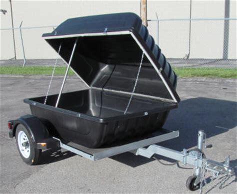 cargo box trailer versa cargo box and roof rack trailers