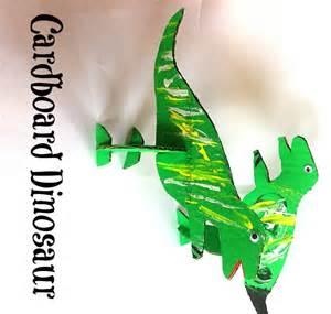 cardboard dinosaurs stand up dinosaur toys