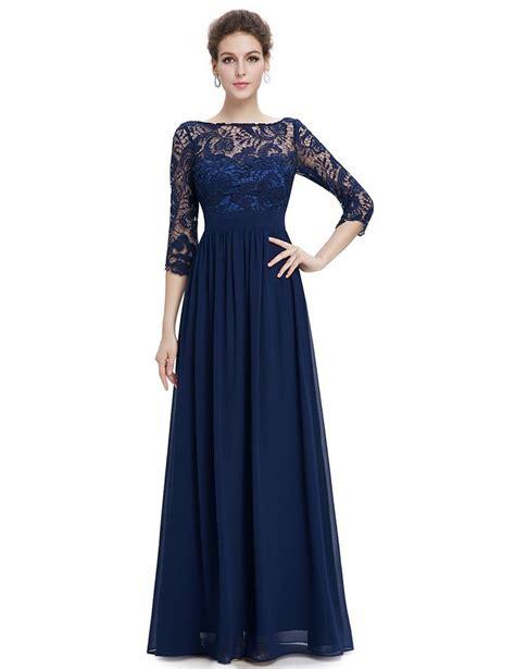 blue pattern lace dress lace long sleeve floor length evening dress lace dress
