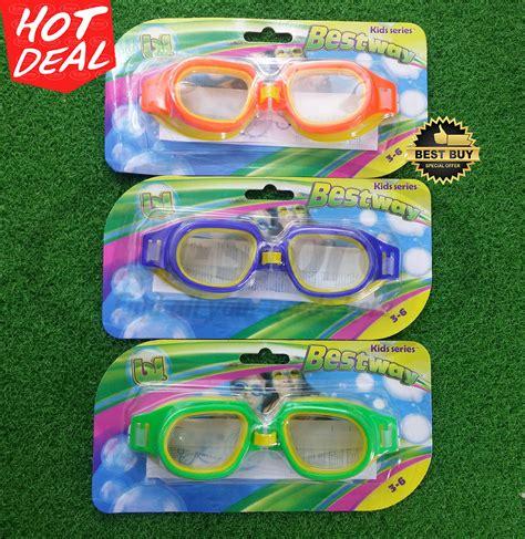 Kacamata Renang Sport Station jual kacamata renang anak sport pro chion goggles bestway original 3 6yr bi store