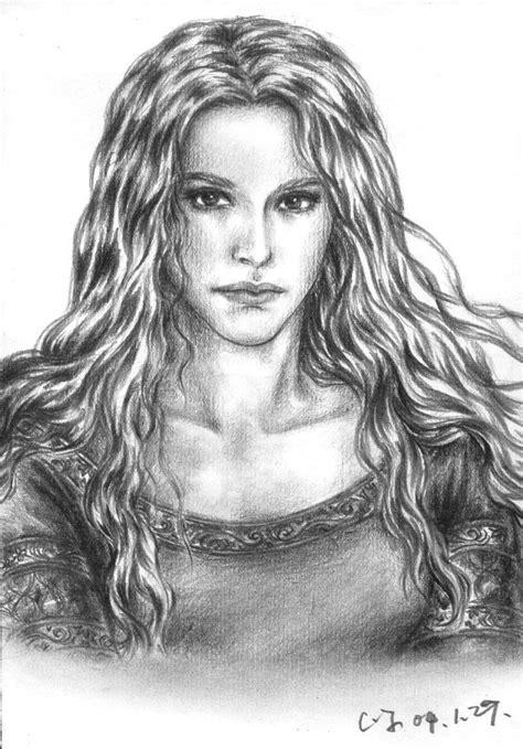 The Silmarillion - Nienor by ainarian.deviantart.com on