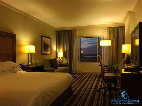 ada rooms hotel review hyatt regency orlando wheelchairtravel org
