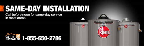 water heater home depot installation home design 2017