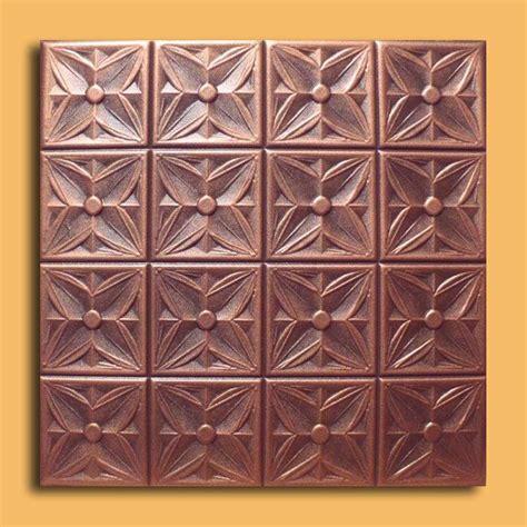 Brown Ceiling Tiles 20 Quot X20 Quot Alfa Antique Copper Black Ceiling Tiles Antique
