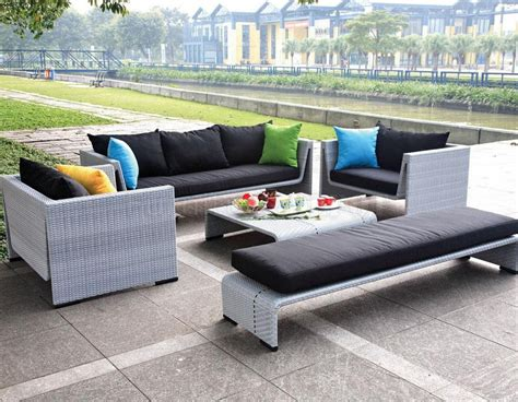 patio furniture sofa choosing an appropriate outdoor sofa furniture from turkey
