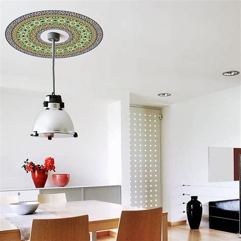 Plafond Vert by Sticker Moulure Plafond Vert Stickers Et Design