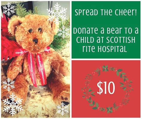 sponsor a bear this holiday season and give a child the