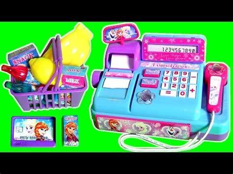 mini cash register toy disney frozen princess anna elsa
